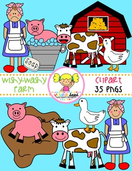 Wishy-Washy Farm Clipart