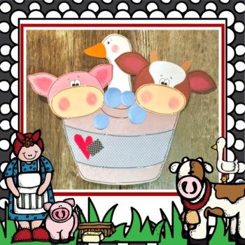 Mrs. Wishy Washy Farm Animal and Tub Craft and Class Books