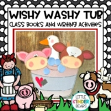 Mrs. Wishy Washy Farm Animal and Tub Craft and Class Books