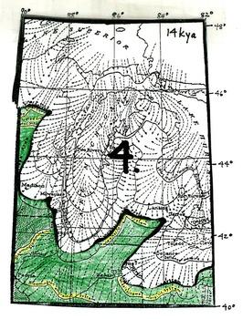 Wisconsinan Ice Age Flip Diagram