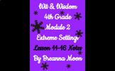 Wit & Wisdom 4th Grade Module 2 Lesson notes 17-22