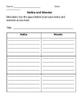 Wit & Wisdom Differentiated Graphic Organizers 1
