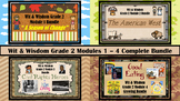 Wit & Wisdom Grade 2 Modules 1 - 4 PowerPoint and Activity
