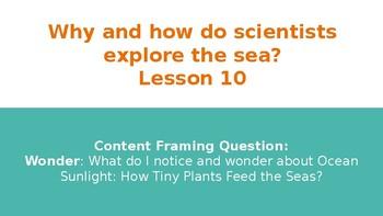 Wit & Wisdom Grade 3 Module 1 The Sea Lessons 10-18