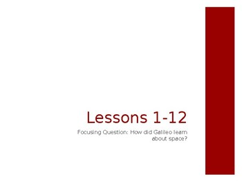 Wit & Wisdom Grade 3 Module 2 Outer Space Lessons 1-12