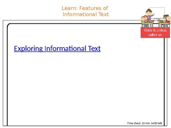 Wit & Wisdom, Grade 4, Module 1, Lesson 8 PowerPoint