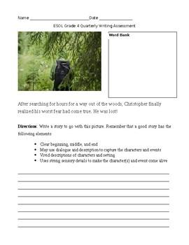 Wit & Wisdom Grade 4 Module 2 ESOL Narrative Writing Prompt