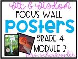 Wit & Wisdom Grade 4, Module 2 Focus Wall
