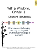 Wit & Wisdom, Grade 4, Module 2 Lessons 1-5 Student Work Packet