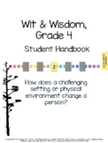 Wit & Wisdom, Grade 4, Module 2 Lessons 16-20 Student Work Packet
