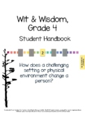 Wit & Wisdom, Grade 4, Module 2 Lessons 21-25 Student Work Packet