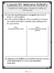Wit & Wisdom, Grade 4, Module 3 Lessons 31-35 Student Work Packet