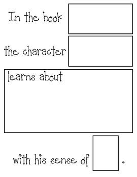 Wit & Wisdom Kindergarten Five Senses End of Module Task