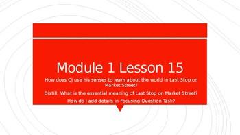 Wit & Wisdom Kindergarten Module 1 Lesson 15