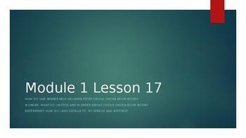 Wit & Wisdom Kindergarten Module 1 Lesson 17
