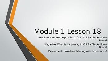 Wit & Wisdom Kindergarten Module 1 Lesson 18