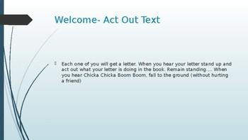 Wit & Wisdom Kindergarten Module 1 Lesson 22