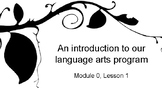 Wit & Wisdom Module 0 Slides for K-2