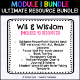 Wit & Wisdom Module 1 Bundle - PowerPoints, Vocab, Focus Wall, Book Tasting
