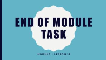 Wit & Wisdom Module 1- End of Module Task