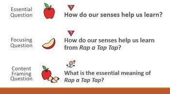 Wit & Wisdom Module 1 Lesson 27 (Rap a Tap Tap) PPT