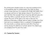 Wit & Wisdom Module 1 That Book Woman Sorting Game (Scholar)