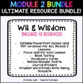 Wit & Wisdom Module 2 Bundle - PowerPoints, Vocab, Focus Wall, Book Tasting