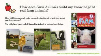 Wit & Wisdom Module 2 Lesson 6 (Farm Animals) PPT