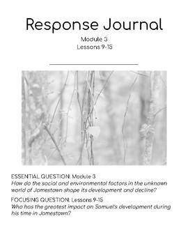 Wit & Wisdom Module 3 Lessons 9-15 Response Journal