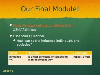 Wit & Wisdom Module 4 Lesson 1 - 4