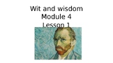 Wit and Wisdom 3rd Grade Module 4 Lessons 1-10