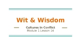 Wit and Wisdom 5th Grade Module 1-Lesson 14 Powerpoint