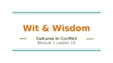 Wit and Wisdom 5th Grade Module 1-Lesson 15 Powerpoint