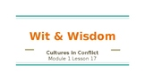 Wit and Wisdom 5th Grade Module 1-Lesson 17 Powerpoint