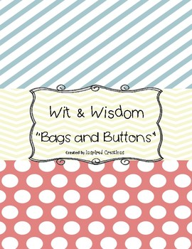 Wit and Wisdom: Bags and Buttons