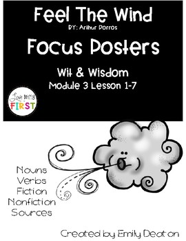 Wit and Wisdom Feel the Wind Focus Posters