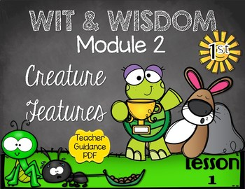 Wit and Wisdom First Grade Module 2 Lesson 1