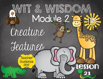 Wit and Wisdom First Grade Module 2 Lesson 21
