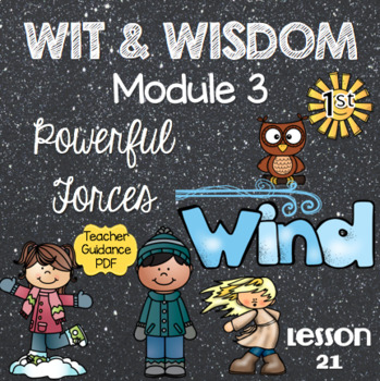 Wit and Wisdom First Grade Module 3 Lesson 21