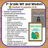 Wit and Wisdom-First Grade Module 4 Lessons 10-16 Companio