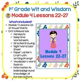 Wit and Wisdom-First Grade Module 4 Lessons 22-27