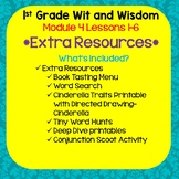 Wit and Wisdom-First Grade Module 4 Lessons 1-6 Extra Resources