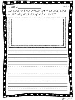 Wit and Wisdom Grade 1 That Book Woman Activities