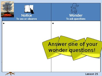 Wit and Wisdom Grade 2, Module 1, Lessons 25-32: Sky Tree and EOM Task