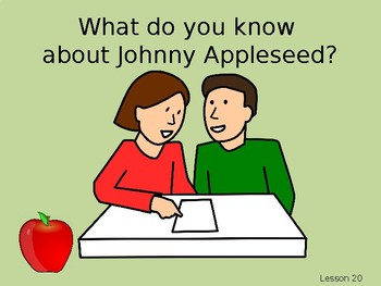 Wit and Wisdom Grade 2, Module 2, Lessons 20-25: Johnny Appleseed