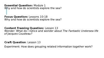Wit and Wisdom Grade 3 Module 1 Lesson 13