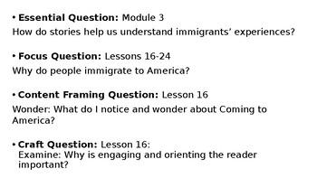Wit and Wisdom Grade 3 Module 3 Lesson 16