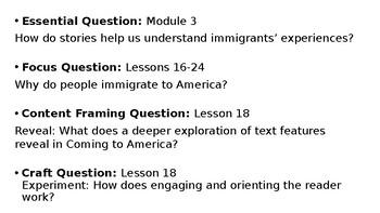 Wit and Wisdom Grade 3 Module 3 Lesson 18