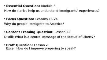 Wit and Wisdom Grade 3 Module 3 Lesson 22
