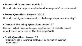 Wit and Wisdom Grade 3 Module 3 Lesson 27